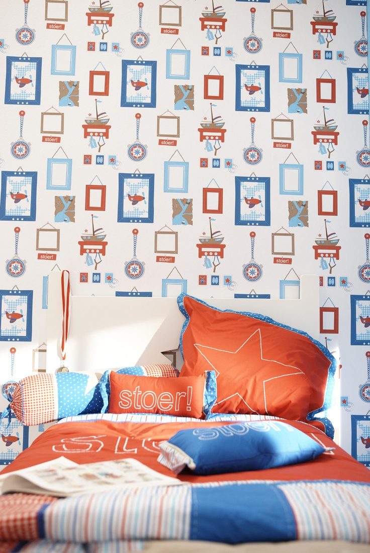 Dress up walls with textured paintable wallpaper called anaglypta - Boys Frames Paperroom