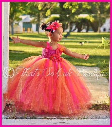17 Best images about Flower Girl Tutu Dresses on Pinterest ... - photo #13