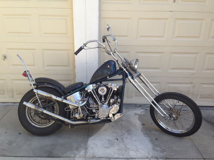 For Sale: 1941 Harley Davidson Knucklehead Survivor Chopper.