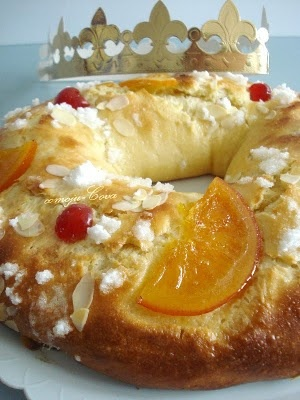 Roscón de Reyes / Twelfth night bread