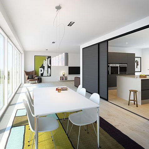 Skyvedører er godt for mer enn garderoben på soverommet eller i gangen – de kan også brukes til lure løsninger for mer plass, flere rom eller rett og slett skjule rot.
