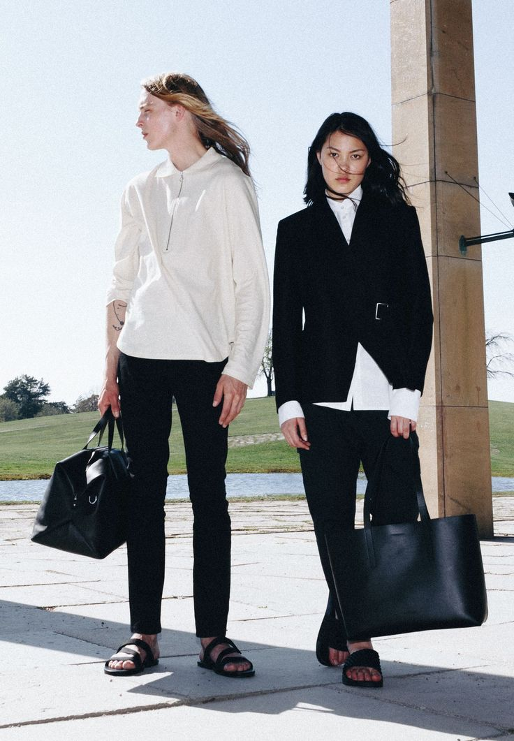Refined companions: weekend bag Holly and tote bag Emma.