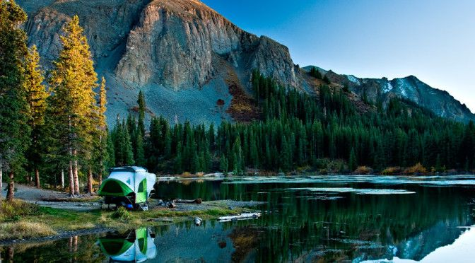 The SylvanSport GO is a lightweight pop-up trailer/camper and it's amazing!