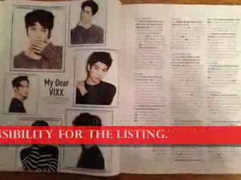http://youtu.be/i83LfJvcJ4I NEW CeCi JANUARY 2014 Magazine VIXX 14page Photo Shoot Clips Unfolded Kpop Voodoo