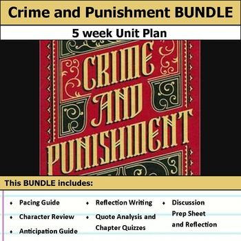 best topic crime punishment images crime  crime and punishment unit bundle