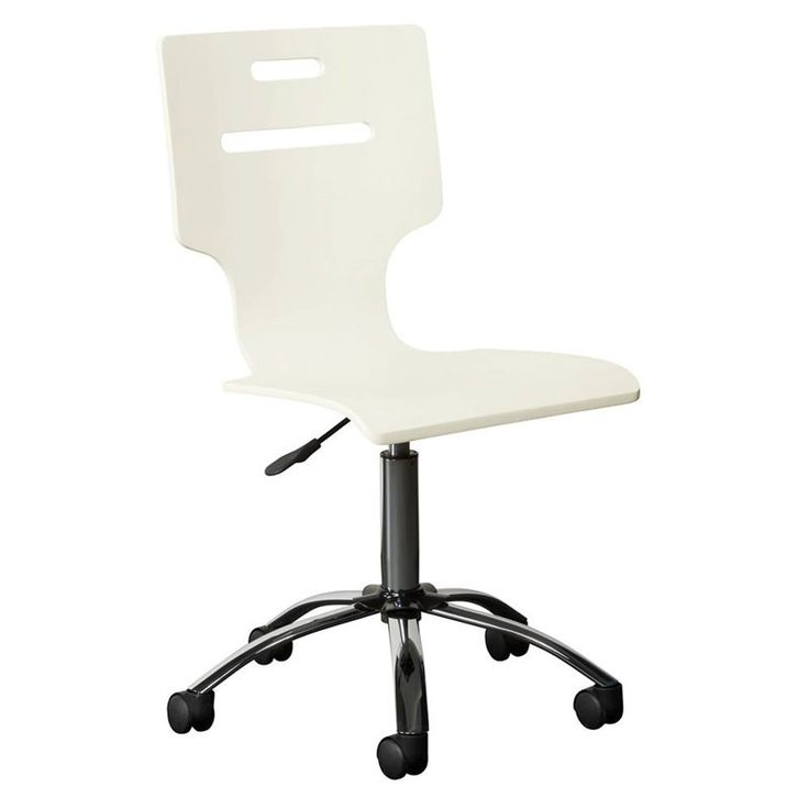 Stone & Leigh Clementine Court Desk Chair in Frosting  youth furniture / children's furniture / bedroom furniture / white chair