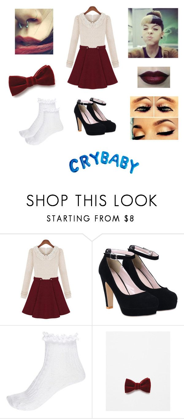 """✗ Cake (Melanie Martinez) ✗ ©"" by khodionna ❤ liked on Polyvore featuring River Island and Zara"
