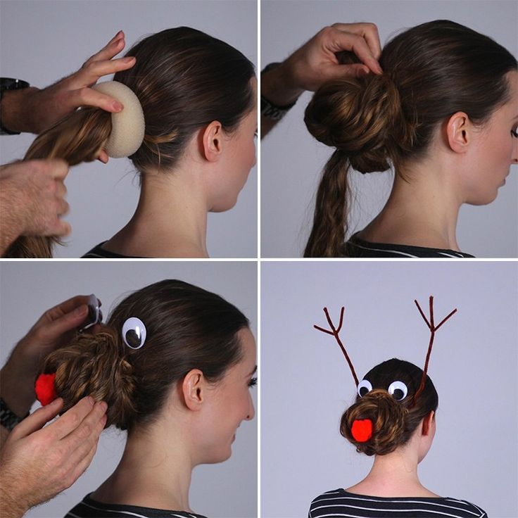 If you are going an ugly Christmas sweater party or have some kids who needs a cute hairstyle for the holidays this is the most hilarious one you could do! Turning your hair into this silly Reindeer Christmas Hairstyle is pretty easy to do and will definitely make a statement! So go out and get some...
