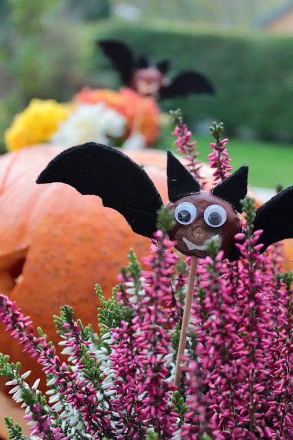 Herzenssachen   Chestnut for Halloween