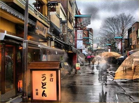 Reflections in Time by Michael D.Keller  Old Japan