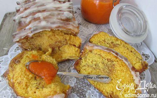 Постный отрывной тыквенный хлеб с корицей | Кулинарные рецепты от «Едим дома!»