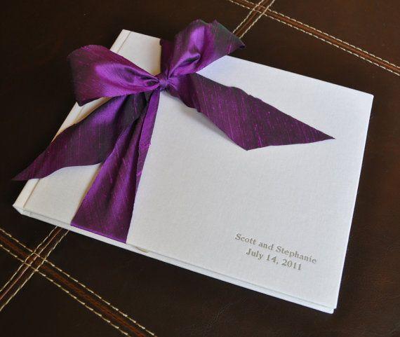 Unique Guest Book  Personalized Photo Album  by clairemagnolia, $69.00