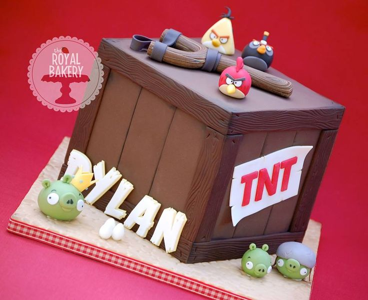 17 Best Images About Angry Birds On Pinterest: 17 Best Images About Cakes