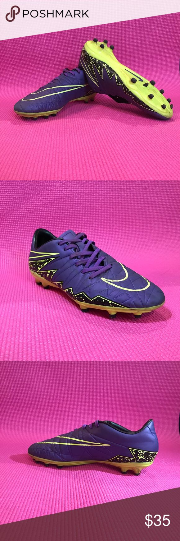 Nike Hypervenom soccer cleats Look brand new used for only one soccer season Nike Shoes Athletic Shoes