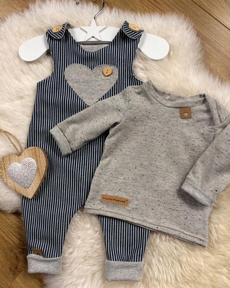 # couture # couture # couture pour bébés # classique # salopette # lessismore # babyfashion # babyk …   – Nähen