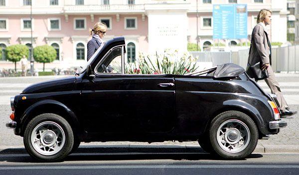 Fancy - Fiat 500 Cabrio Convertible