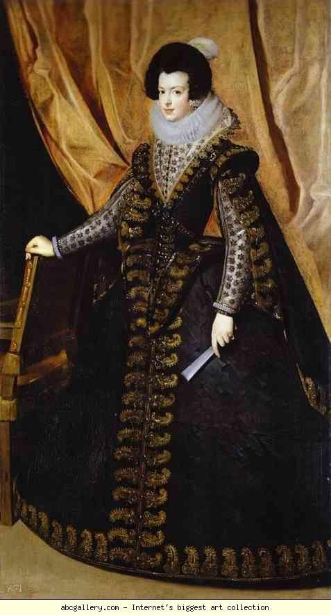 Diego Velázquez. Queen Isabel, Standing. 1631-33   Spanish ...