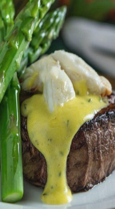 Steak Oscar - A valentine's day winner!