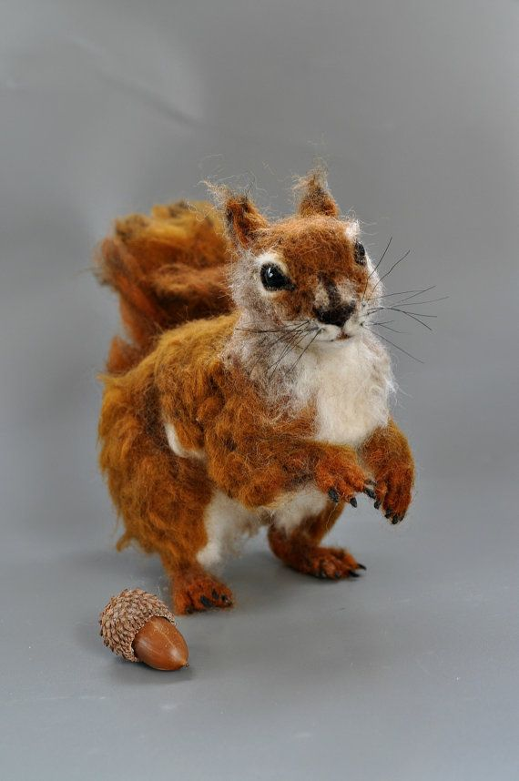 Hey, I found this really awesome Etsy listing at https://www.etsy.com/listing/185421792/needle-felted-wool-animal-north-american