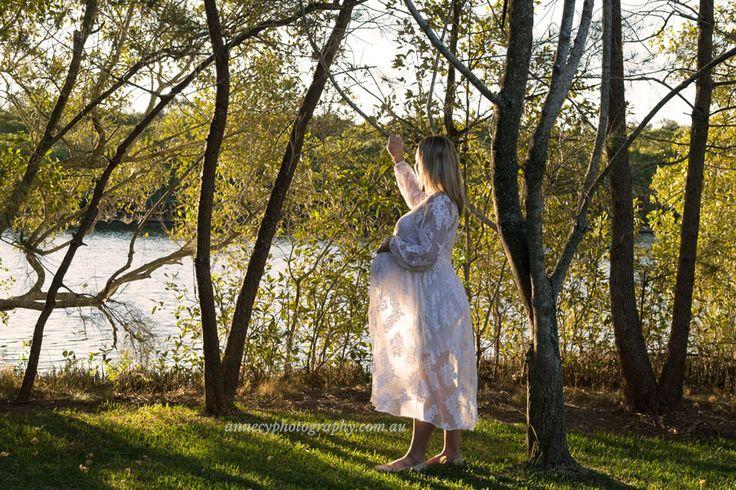 Sunset maternity shoot