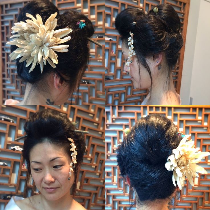 Geisha hair set