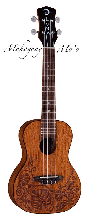 Luna Guitars' latest concert Uke...gorgeous and such a great company....