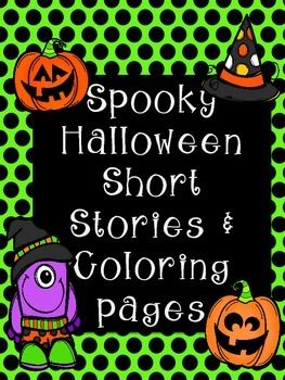 This download features:  - 2 short stories that cover rhyming, suffixes -ed and -ing, and dialogue. - 3 Halloween coloring pages that go along with the story