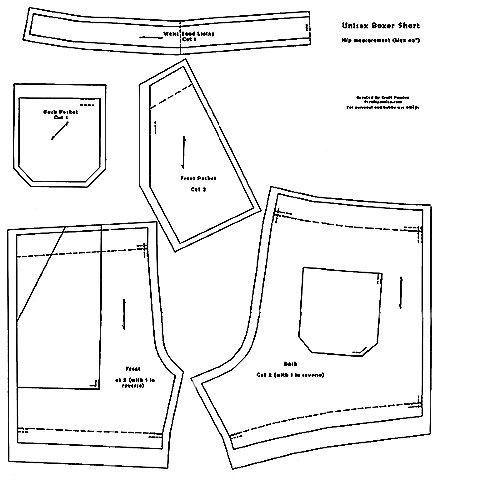 free unisex Boxer-Short-Pattern-Full-Page