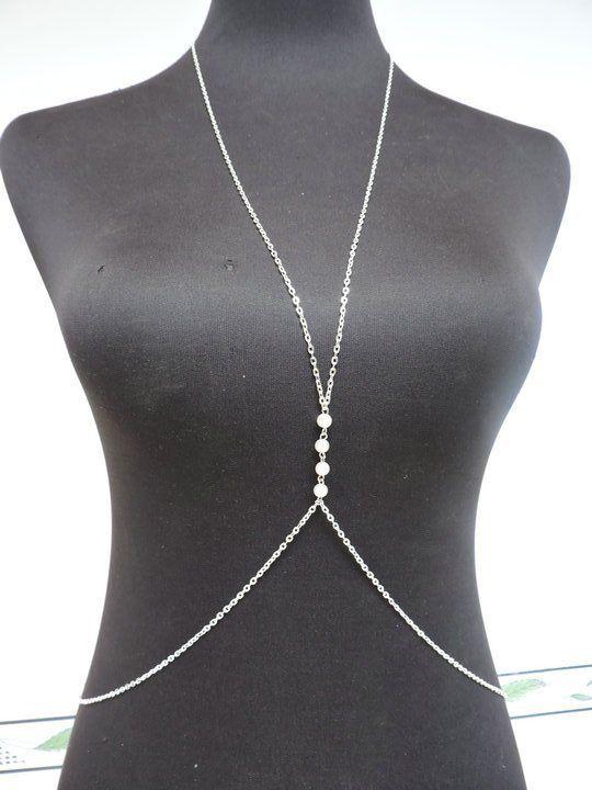 Женское тело цепь, Производства компактный бусины от средний из цепь