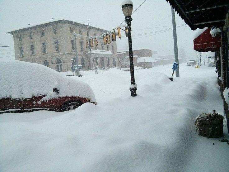 Big Stone Gap Snow Storm Feb.2015