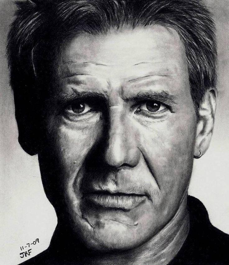 Harrison Ford by *Rick-Kills-Pencils on deviantART