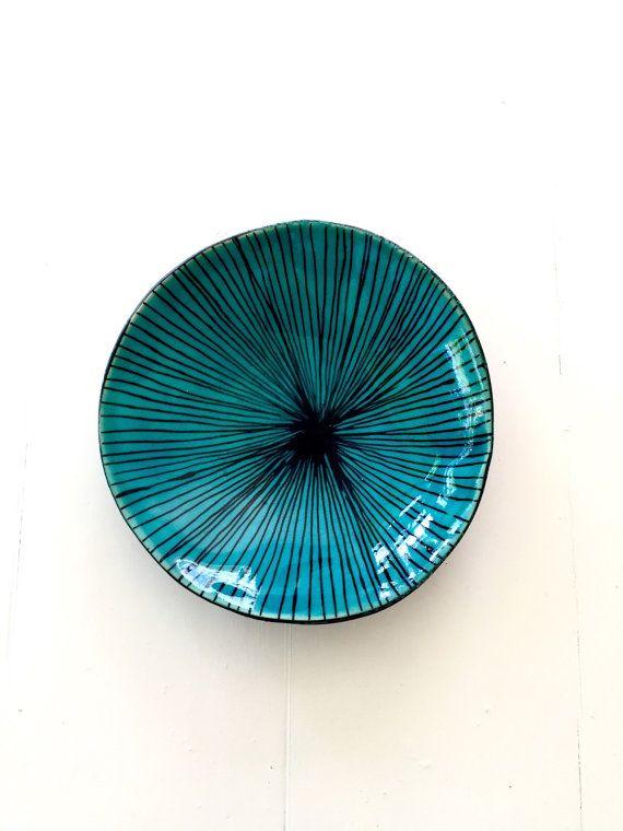 Poterie  Decorativ céramique bol à la main Pottery par monalisapottery
