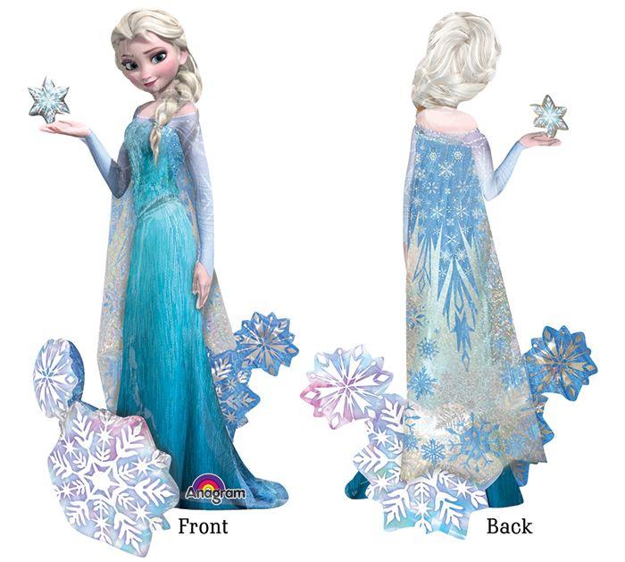What's New: Frozen Elsa Airwalkers® Balloon #burtonandburton #frozen #balloons