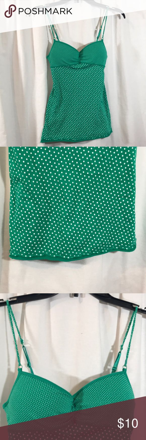 Small Green Cami Top Excellent condition 2️⃣4️⃣ Energie Tops Camisoles