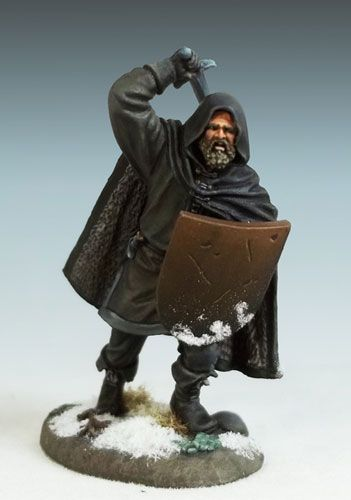 Nights Watch Warrior with Weapon Options - Miniature Lines