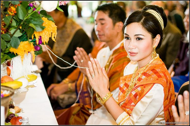 Lao Weddings - Since this is in my culture, I might have to do this!