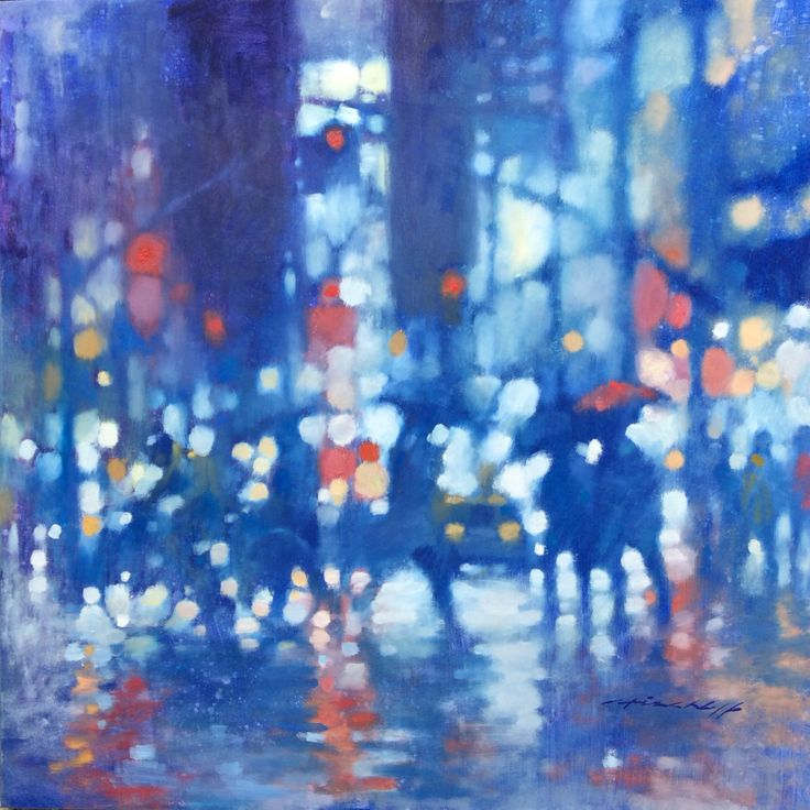 "David Hinchliffe ""New York Lights"""