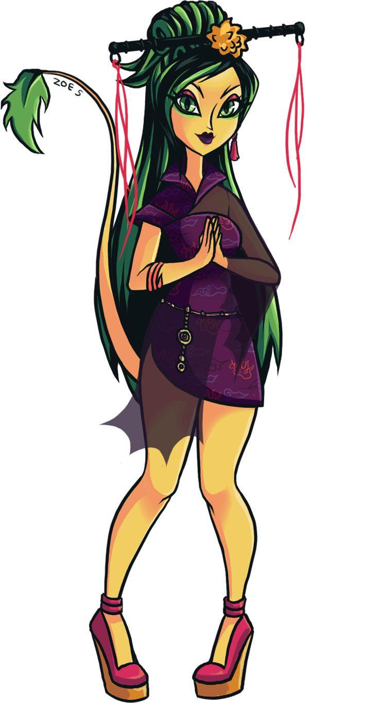 Jinafire long chibi dress up