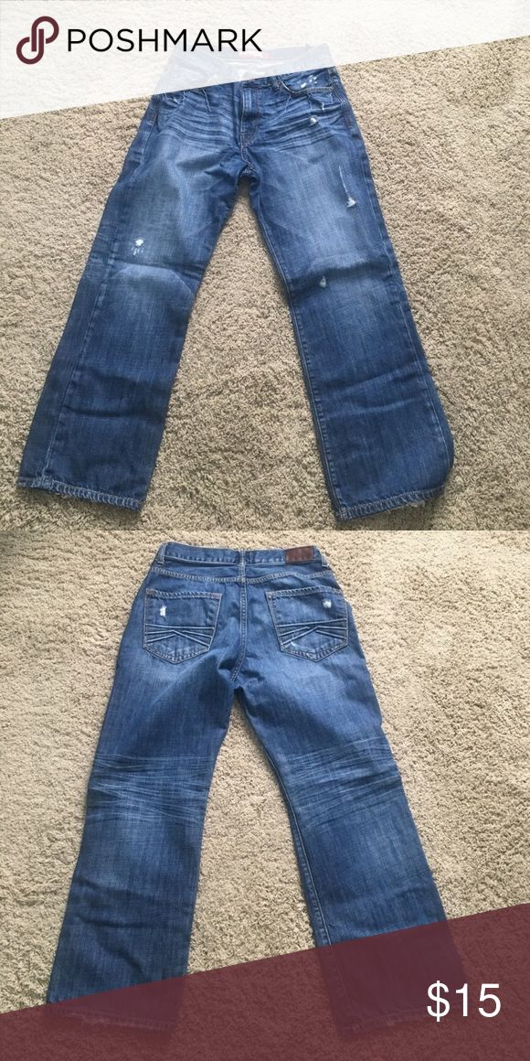 Express Men's Jeans Reselling from purchasing from here. Original seller sent me a different size than described. Size 34x30 men's jeans. Classic fit. Great condition! Express Jeans