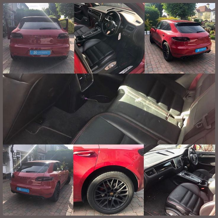 Porsche Macan GTS ❤️ before and after – no filter needed! 😍😍 porschema…