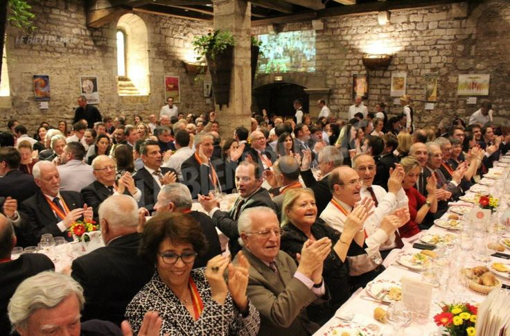 Le chapitre de la Saint-Vincent Tournante au Clos Vougeot 2017