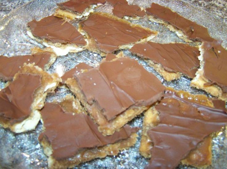 Chocolate Crack | Desert | Pinterest