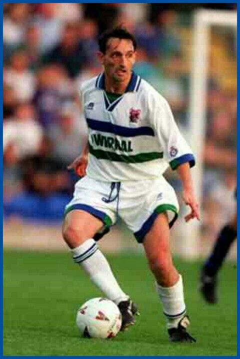 Pat Nevin of Tranmere Rovers in 1995.