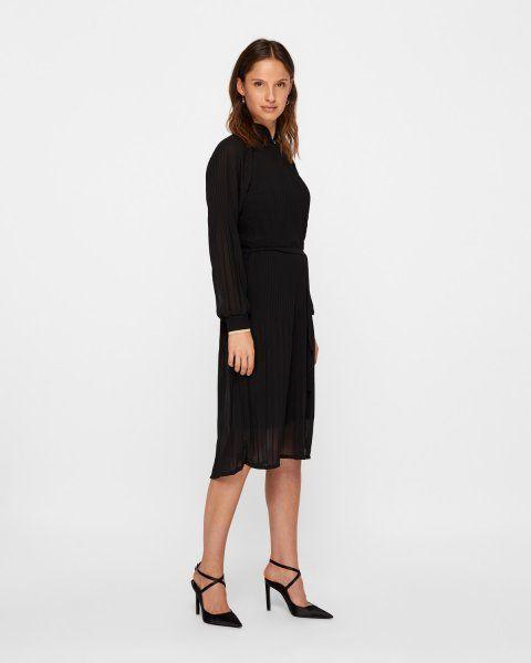 e963f857ed07 RUE de FEMME Milly kjole - Sort