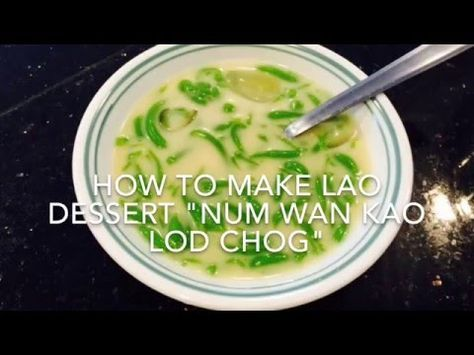 How to Make Nam Van Dessert (Very Simple and Easy) - YouTube