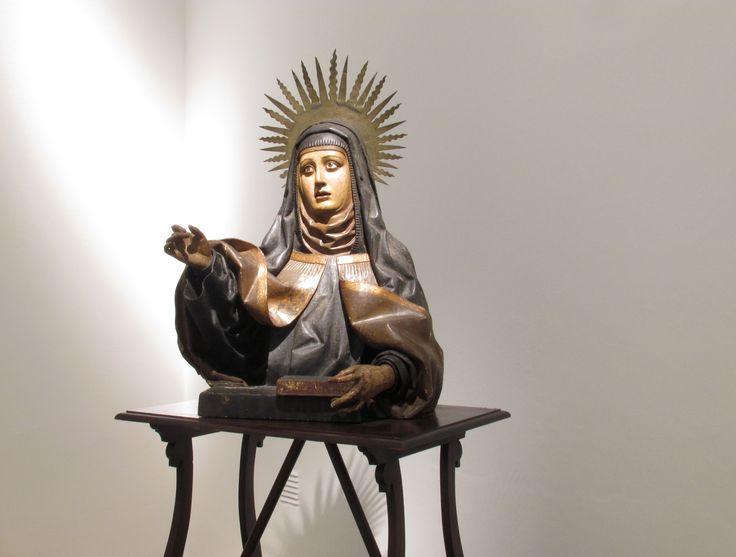 Escultura de Santa Teresa de Jesús #MuseoMarc