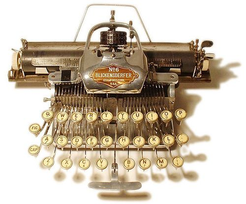 Typewriter Blickensderfer 6 typewriter - 1906, antiquetypewriters.com by antique typewriters on Flickr