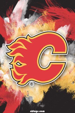 The Calgary Flames Logo