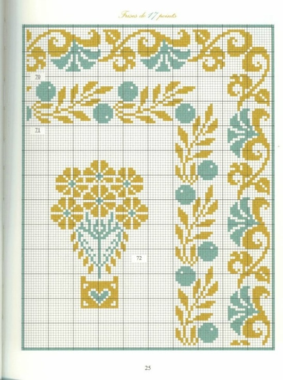 Borders in cross stitch 14