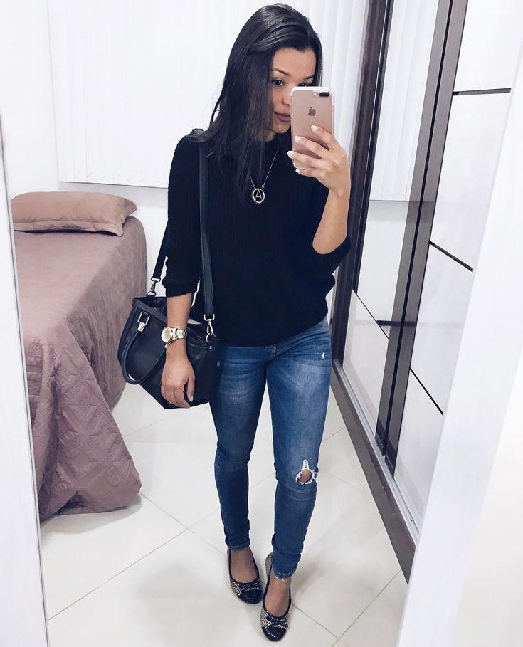 """5,826 curtidas, 42 comentários - Álice Vivianny (@alicevivianny) no Instagram: """"look completo ☔️ porque sou dessas que quando esfria um pouquinho já tira do guarda-roupas uma…"""""""
